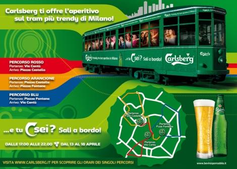 Fuorisalone mania l aperitivo sul tram pi trendy di for Orari fuorisalone milano