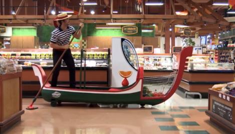VILLAGGIO_Grocery Cart Gondola