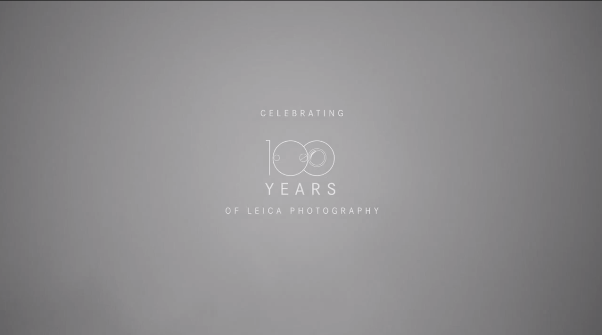 100 years Leica. We didn't invent photography. But we invented photography