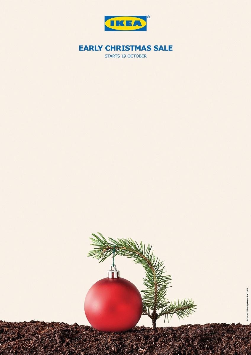IKEA è così in anticipo che ha dei problemi con gli alberi di Natale!